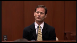 Adam Pollock in court in July 2013.