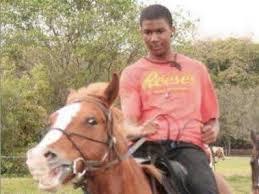 Trayvon Martin - horse