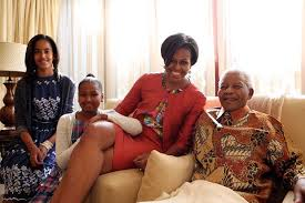 Mandela and Michelle