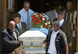 simmons funeral