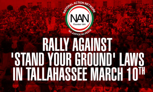 Nation Action Network Stand Your Ground Rally