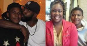 Trayvon and Sybrina 2
