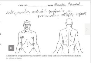 Michael Brown's autopsy