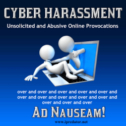 Cyber Harassment-Provocation-Online Harassment-Internet Harassment-iPredator-Internet Safety Image
