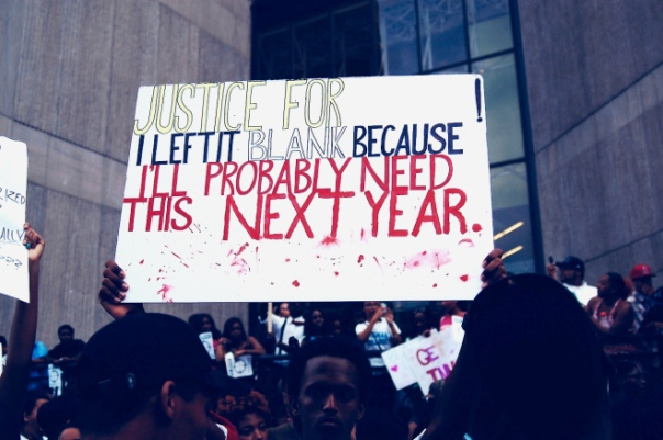 Black America protest police killings and brutality