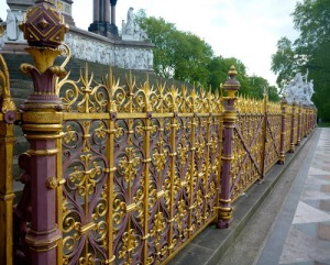 gold fence