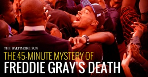 The mysterious 45 minutes of Freddie Gray's death