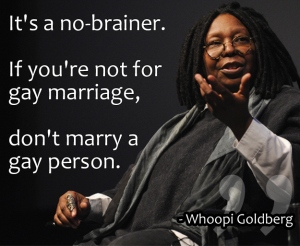 Whoopie Goldberg on gay marriage