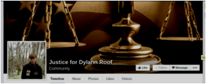 Justice for Dylann Roof FB page