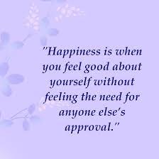 Happy feeling good